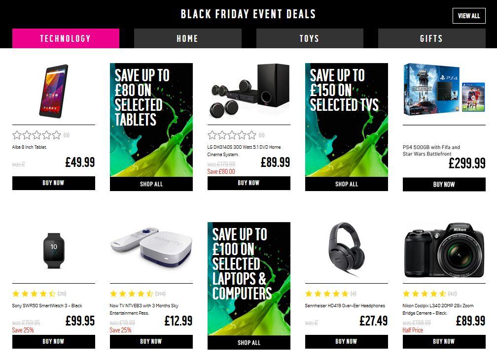Argos Black Friday Sale