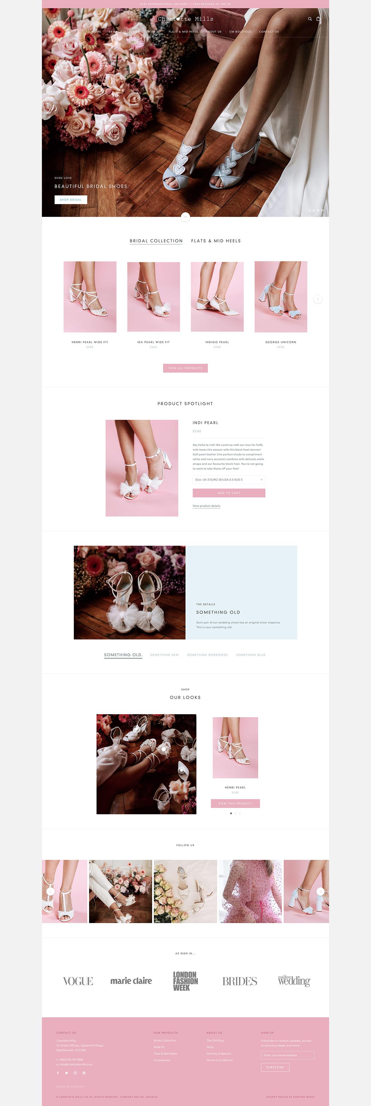 Charlotte Mills Website
