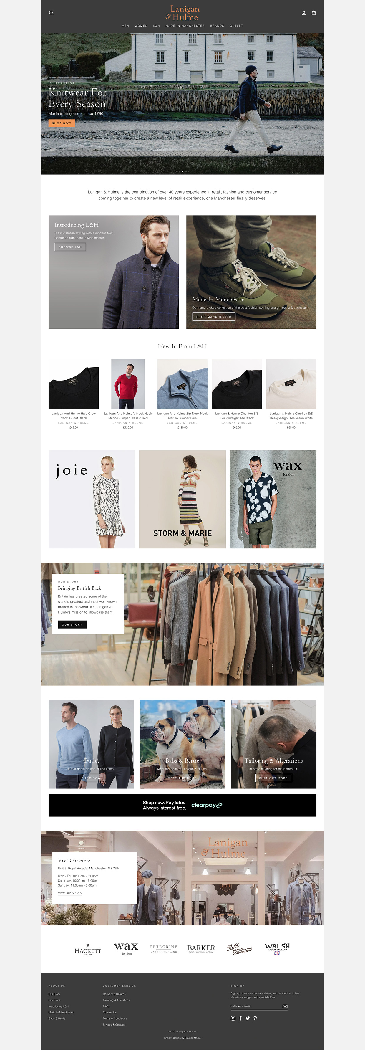 Squarespace to Shopify Replatforming